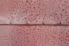 Laminado con alivios rojos Imagenes de archivo