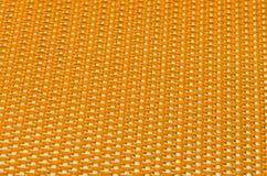 Laminado del acoplamiento del metal amarillo imagenes de archivo