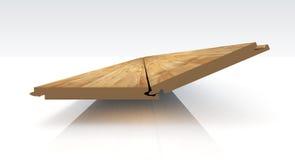 Laminat. Illustation of a Laminat made in 3D Stock Image