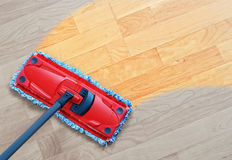 Laminate cleaning Stock Images