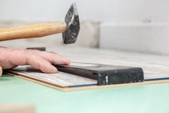 Laminate construction tool Stock Photography