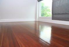 Laminate floor near windows, as interior design background. Laminate floor near windows, as interior design background or print card Royalty Free Stock Photo