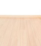 Laminate floor and white wall Stock Photography