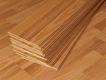 Laminate flooring Stock Images