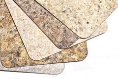 Laminate Flooring Samples Royalty Free Stock Photo