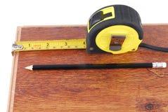 Laminate measure Royalty Free Stock Photo
