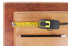 Laminate measure Stock Photos