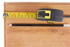 Laminate measure Stock Images