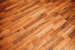 Laminate parquet floor texture Royalty Free Stock Photos