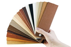 Laminate samples Stock Photo
