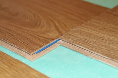 Laminate on substrate Royalty Free Stock Photos