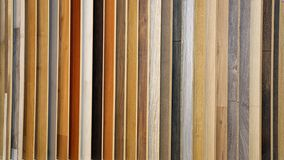 Laminate Wood Flooring. Color Board Selection stock image