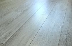 Laminated floor boards Stock Image