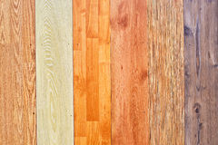 Laminated floor texture. Collection of wooden laminated floor textures, abstract background royalty free stock photography