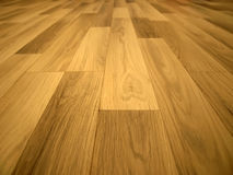 Laminated flooring board. Interior background Stock Photo