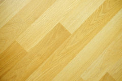 Laminated flooring on diagonal direction Royalty Free Stock Image