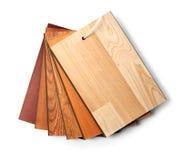 Laminato di legno della pavimentazione Fotografie Stock Libere da Diritti