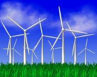 Laminatoi di vento Immagine Stock