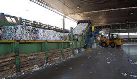 Laminatoio della pasta-carta e della carta - ricicli il documento immagini stock