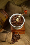 Laminatoio di caffè Fotografie Stock Libere da Diritti
