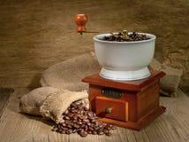 Laminatoio di caffè Fotografie Stock