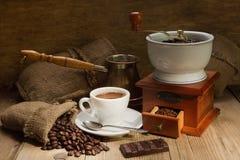 Laminatoio di caffè Immagine Stock Libera da Diritti
