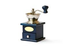 Laminatoio di caffè antiquato Fotografia Stock Libera da Diritti