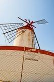 Laminatoio di vento Fotografia Stock