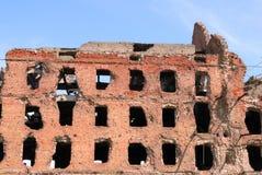 Laminatoio distrusso lotta Volgograd di Stalingrad di panorama del museo immagine stock