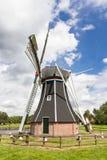 Laminatoio olandese storico del polder fotografie stock libere da diritti