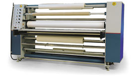 Laminator. A shot of a laminator on white Royalty Free Stock Photo