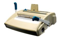 Laminator machine Stock Image