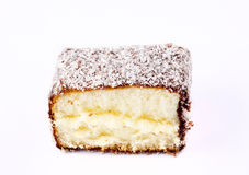 Lamington cake australia Royalty Free Stock Photos