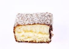 Lamington cake australia Royalty Free Stock Photos