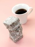 Lamington Cakes Stock Image