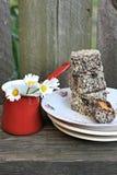 Lamingtons Cake royalty free stock image
