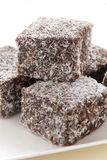 Lamingtons Stock Photo