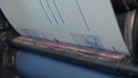 Laminowanie proces broszura przy drukowym domem zbiory