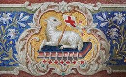 Lamm av guden Arkivbild