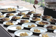 Lamm-Grill von Brasilien Stockfotos