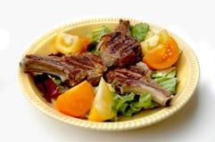 Lamm-Hieb-Abendessen Lizenzfreies Stockfoto