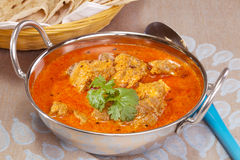 Lamm Rogan Josh Indian Curry Lizenzfreies Stockbild