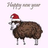 Lamm-Weihnachten Stock Abbildung