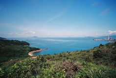 Lamma ö, Hong Kong Royaltyfria Foton