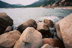 Lamma ö, Hong Kong Arkivfoto