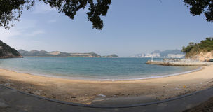 Lamma island beach near hong kong Royalty Free Stock Image