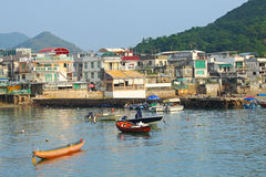 Lamma Island in Hong Kong Royalty Free Stock Images