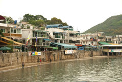 Lamma Island, Hong Kong. Lamma Island is located to the southwest of Hong Kong Island Royalty Free Stock Photography