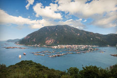 Lamma island in hongkong Stock Photos
