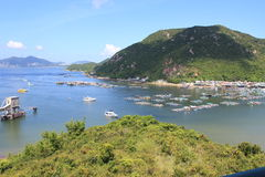 Lamma Island landscape view in Hong Kong Royalty Free Stock Photography